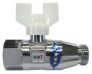 ホット 逆止弁付ボールバルブ C31G−05