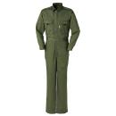 作業服 KURODARUMA(クロダルマ) 49112−2 ツナギ服 グリーン 3L