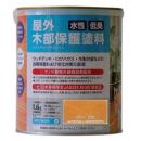水性 屋外 木部保護塗料 アクアアウトドアステイン 1.6L ピニー