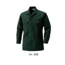 鳳皇 2301 HOOHシャツ 64深緑 3L