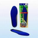 エアメッシュインソール 長靴用 ブルー 男性 フリー