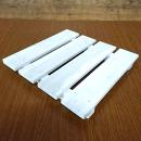 塗装杉すのこ(白) (約)37×300×300mm