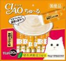 CIAO チャオ ちゅ〜る とりささみ海鮮ミックス味 20本