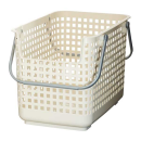 スカンジナビアスタイル ランドリーサポートバスケット ホワイト WSCB−6