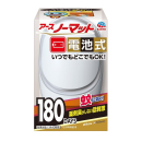 アース アースノーマット 電池式 180日セット ホワイトシルバー