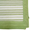 肌触りさらさら綿ラグ エルフ2 長方形 3帖用 190×240 グリーン