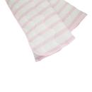 吸水速乾(糸地) やわらかパイル敷パッド シングル ボーダー ピンク