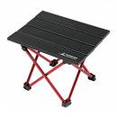 キャプテンスタッグ トレッカー アルミ ロールテーブル <ミニ> ブラック UC−530