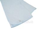先染めドビー織り 敷パット シングル ブルー
