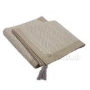 CRACK(クラック) インド綿 ラグ 185×240 ホワイト