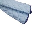 ひんやり涼感敷パット セミダブル 120×205 ブルー