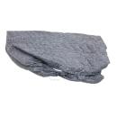 ひんやり接触冷感 敷パッド一体型ワンタッチシーツ シングル ネイビー