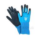 のら ワンダーガーデン 手袋 ブルー L 310