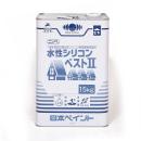 日本ペイント 水性シリコンベスト2 ブラック 15kg