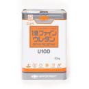 日本ペイント 1液ファインウレタン U100 白 15kg