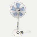 ダブルタイマーリモコン扇風機 YT−3288YR ホワイトブルー