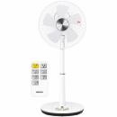 立体首振り 30cmリビング扇風機 YLRX−BK303 ホワイト
