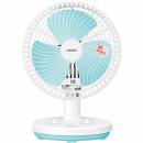 タイマー付卓上扇風機 YDT−F183 ホワイトブルー