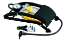 高圧フットポンプ ツインシリンダー (空気入れ)