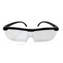 トレードワン メガネ型拡大ルーペ ブラック