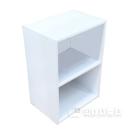 カラーボックス 2段 ホワイト 415×291×595