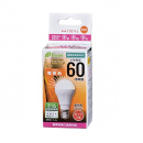 E-Bright LED電球 E17 60形相当 電球色