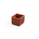 イス脚キャップ 茶 24mm角 BE−4−243