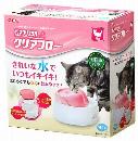 GEX ピュアクリスタル クリアフロー 猫用 950mL ピンク