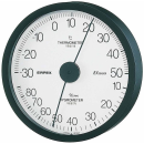 エンペックス エクストラ温湿度計 ブラック TM6202