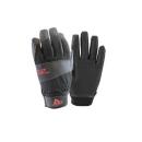 #717 耐切創PU手袋 8/Mサイズ ブラック