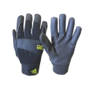 #717 耐切創PU手袋 9/Lサイズ ブラック