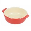 オーブンシェフ 耐熱 丸深皿 15cm レッド