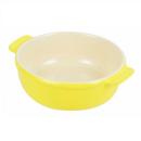 オーブンシェフ 耐熱 丸深皿 15cm イエロー
