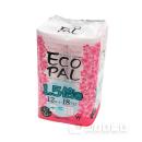 ECOPAL エコロジーパルナップ ダブル37.5m ピンクカラー&フラワーブーケの香り 12ロール