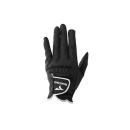 ゴルフグローブ ツアーステージ ブラック Mサイズ GLLX01