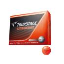 ゴルフボール ツアーステージ エクストラディスタンス 12個 オレンジ