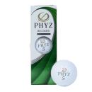 ゴルフボール PHYZ 3個入 ホワイト