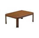 ユアサ 家具調こたつ 120×80cm ブラウン YKL−1201ST