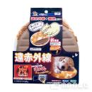 ドギーマン レンジでチンしてぽっかぽか 犬猫用ヒーター 加熱式湯たんぽ アプリコット