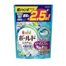 ボールド 洗濯洗剤 ジェルボール3D 爽やかプレミアムクリーンの香り つめかえ用 超ジャンボ 44個入