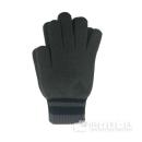 adidasニット手袋 グレー