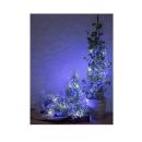 ローボルト LEDクラスター 400球 ホワイト&ブルー