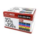 互換インクカートリッジ キヤノン用 350XL+351XL 6色セット