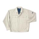 ホシ服装 #P1351 5L ブルゾン アイボリー